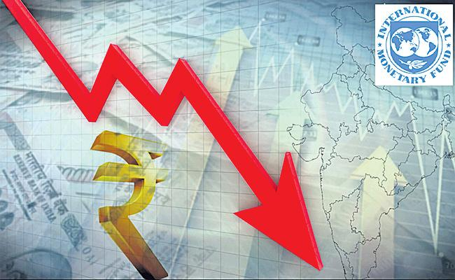 IMF Review on Indian GDP Growth - Sakshi