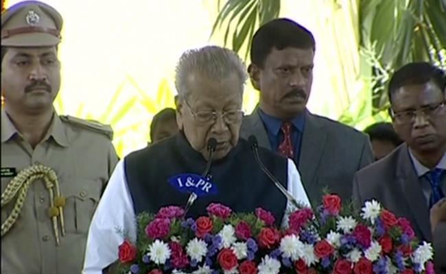 Biswa Bhusan Harichandan Swear in As AP Governor - Sakshi