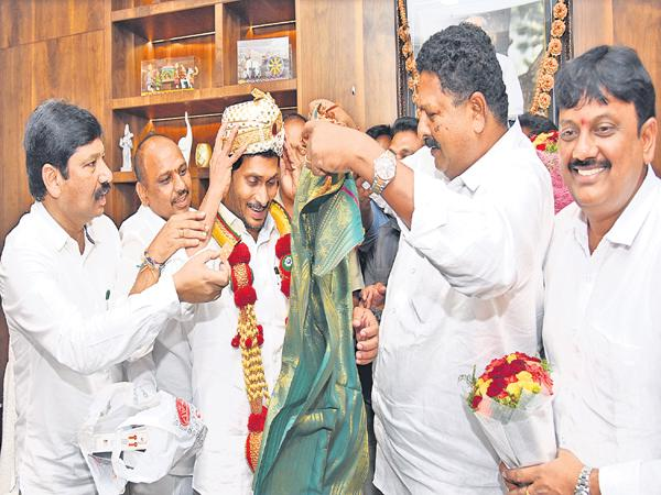 BC and SC and ST minorities Felicitation to CM YS Jagan - Sakshi