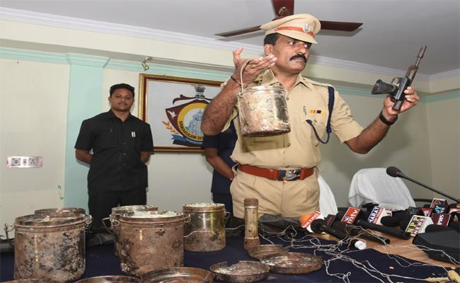 Police Find Maoists Dump Of Grenade In Srikakulam - Sakshi