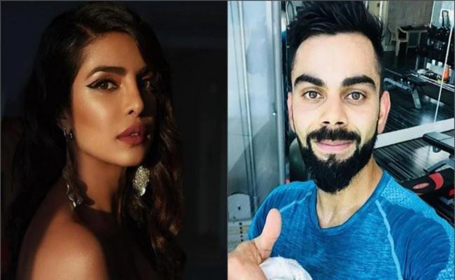 Priyanka Chopra and Virat Kohli Only Indians Instagram Rich List 2019 - Sakshi
