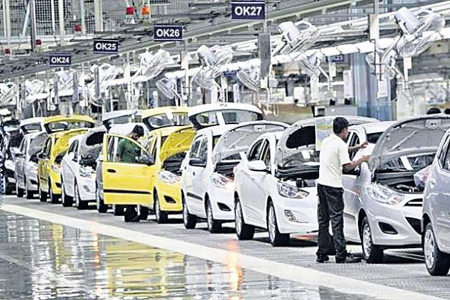 Auto component industry fears loss of 10 lakh jobs due to prolonged slowdown - Sakshi