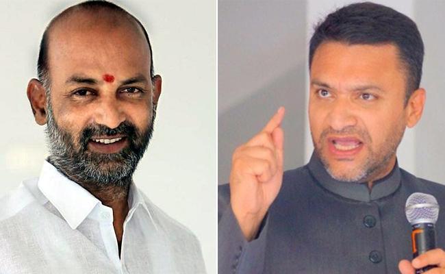 Bandi Sanjay Slams Akbaruddin owaisi Over Criticize BJP And RSS - Sakshi