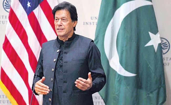 40 Thousand Terrorist Still In Pakistan Said Pm Imran khan - Sakshi