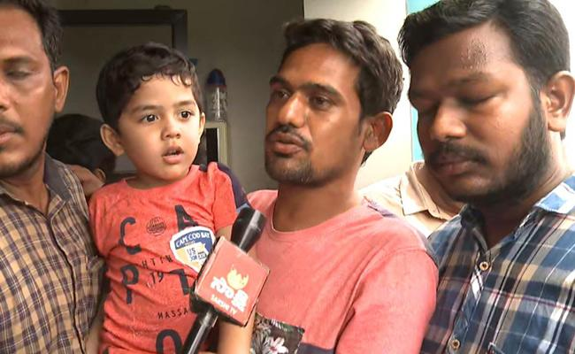 4 Year Old Jasith Released From Kidnappers Father Thanks To CM - Sakshi
