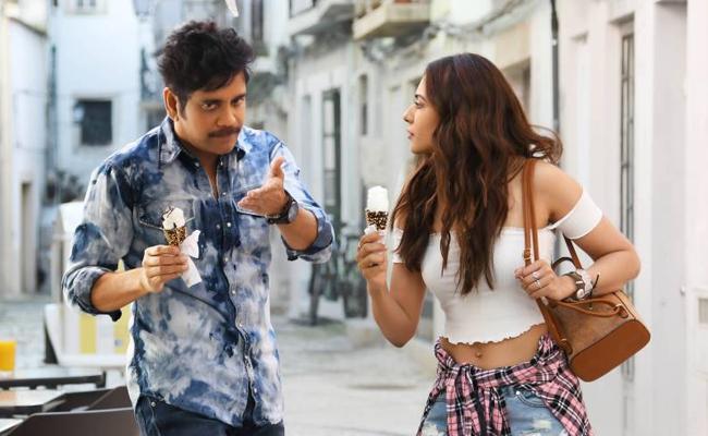 Manmadhudu 2 Makes a Decent Pre Release Business - Sakshi