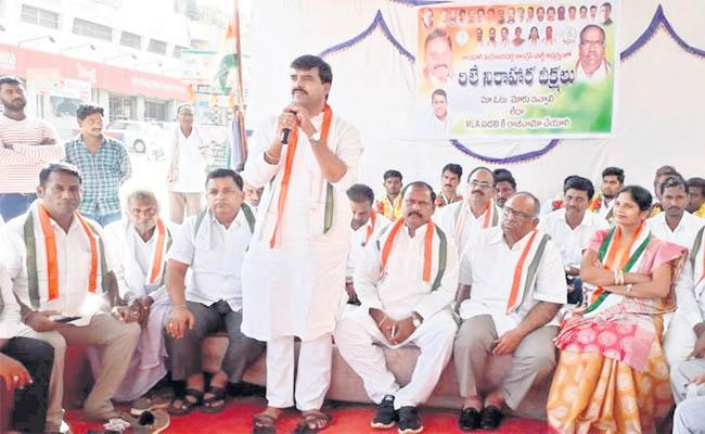 Tandur Congress Leaders Withdraw Riley's Fast - Sakshi