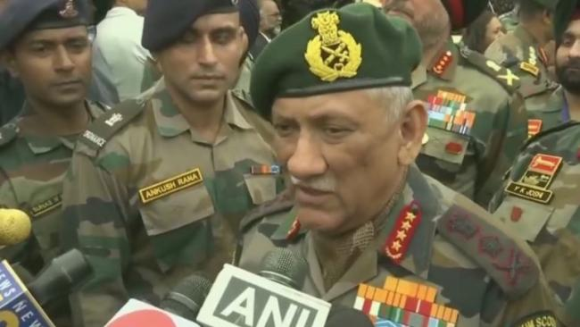 Army Chief Says Enough Proof Of Pakistan Hand In Pulwama Attack - Sakshi
