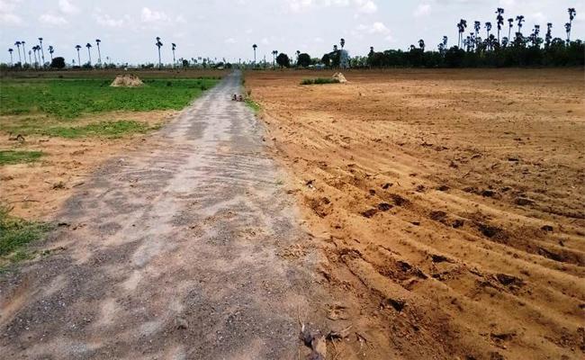 Farmers Demand Return Of Land Taken for Machilipatnam Urban Development Authority - Sakshi