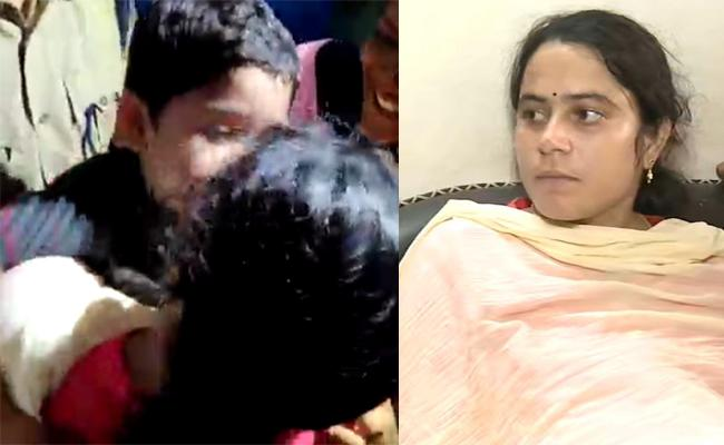 4 Year Old Jasith Released From Kidnappers Parents Thanks To Police - Sakshi