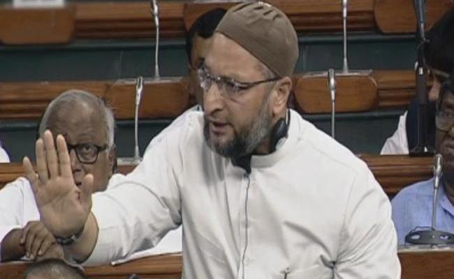 Asaduddin Owaisi Says Center Penalising Women By Triple Talaq Bill - Sakshi