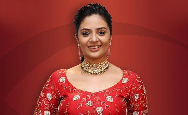 Sreemukhi In Bigg Boss 3 Telugu - Sakshi