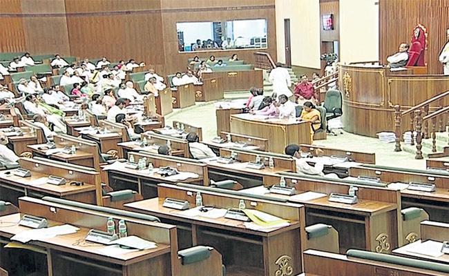 Godavari Water Dispute In AP Assembly - Sakshi
