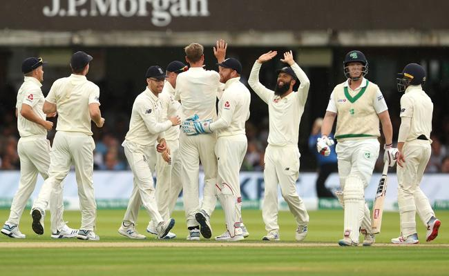 England Bowl Ireland out For 38 to Win Lord Test in Three Days - Sakshi