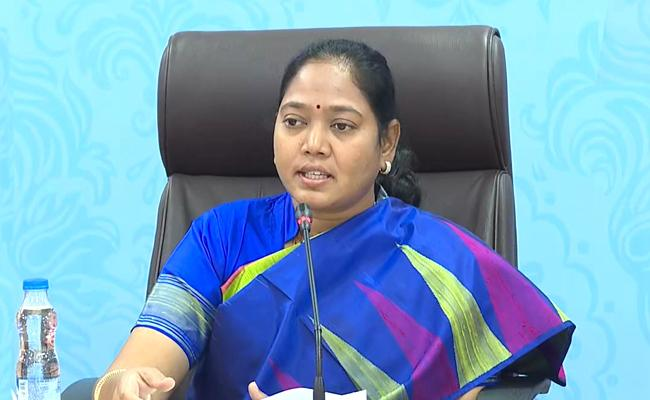 Home Minister Sucharita Attend Cyber Crimes Against Women - Sakshi
