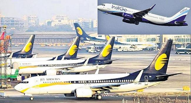 Etihad in the race to acquire Jet Airways - Sakshi