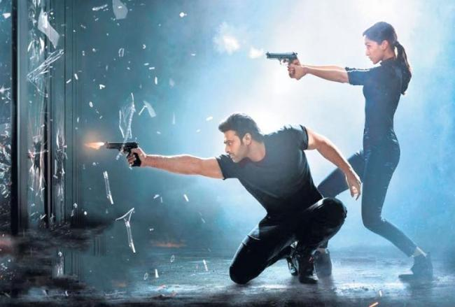 Saaho new poster launch - Sakshi