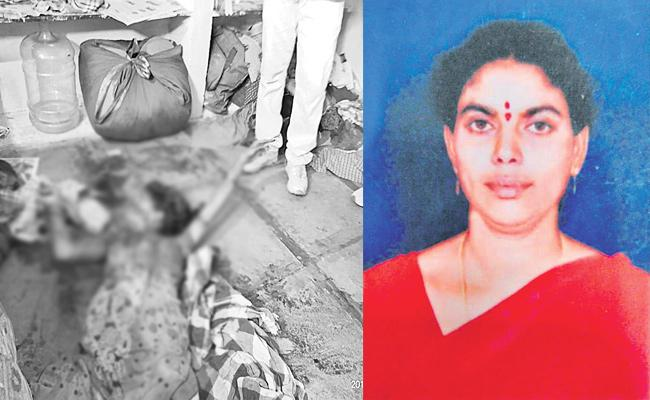 Husband Killed Wife in Hyderabad - Sakshi