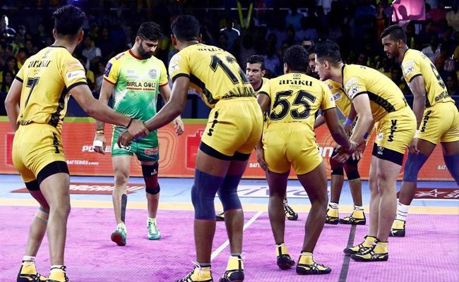 Pro Kabaddi 2019 Patna Pirates Beat Telugu Titans - Sakshi