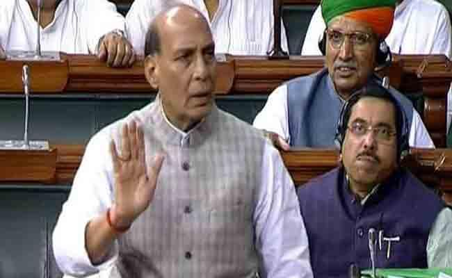 Rajnath Singh Says Pak Can Not Fight Full Fledged War With India - Sakshi