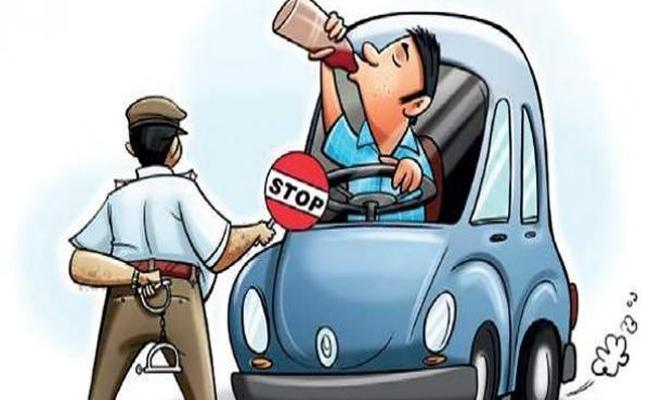 Central Government Amended The Motor Vehicle Act To Curtail Drunk Drivers - Sakshi