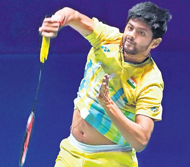 Sai Praneeth enters semis; Sindhu, Rankireddy-Shetty pair crash out - Sakshi