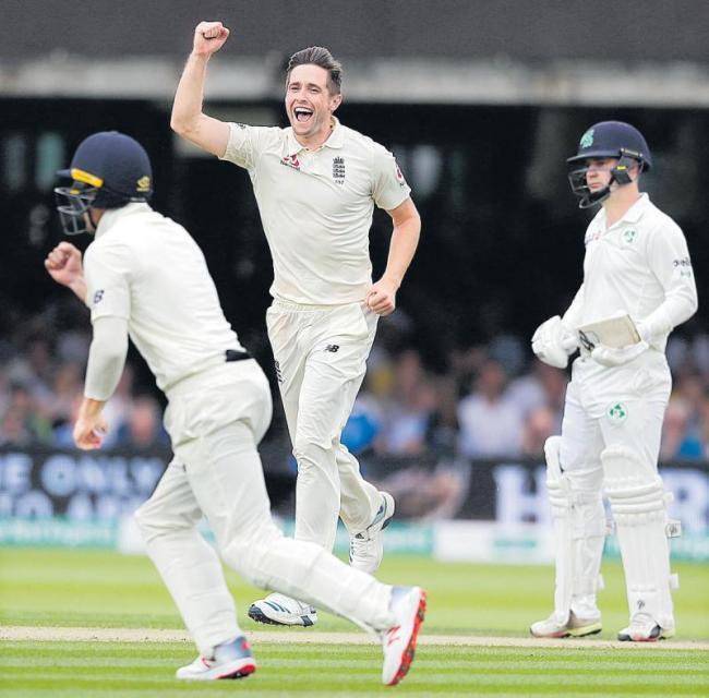 England beat Ireland by 143 runs to win - Sakshi