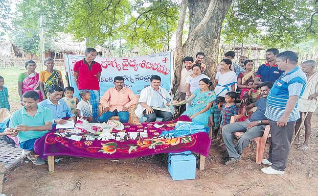 Medical Services In Vajedu Tribal Areas - Sakshi