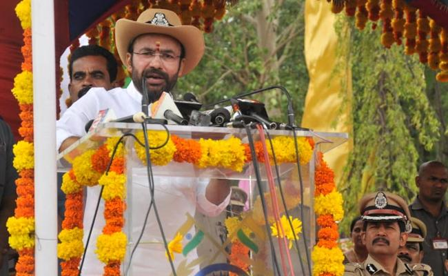 Kishan Reddy Comments In CRPF Raising Day Celebrations In Hyderabad - Sakshi