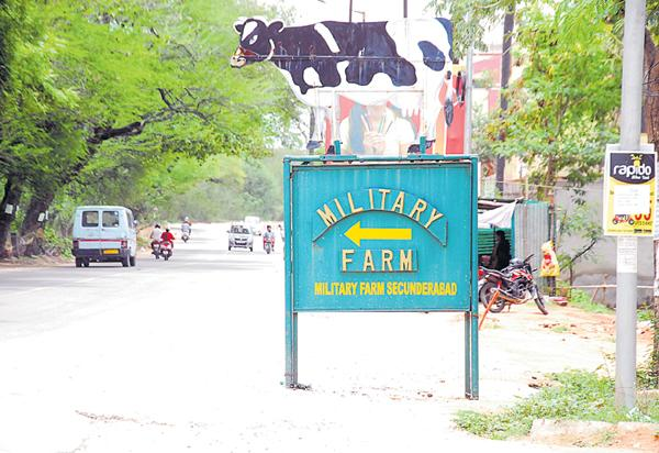 Alwal Military Dairy Farm history was ended - Sakshi