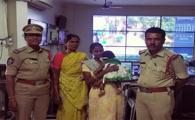 ASI Rescued A Married Woman Who Wanted To Commit Suicide - Sakshi