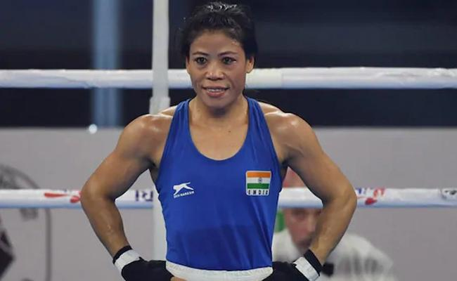 Mary Kom Clinches Gold Medal In 23rd President's Cup - Sakshi