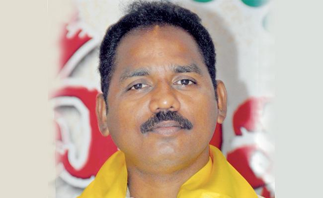Case filed against TDP MLA Vasupalli Ganesh College Issue - Sakshi