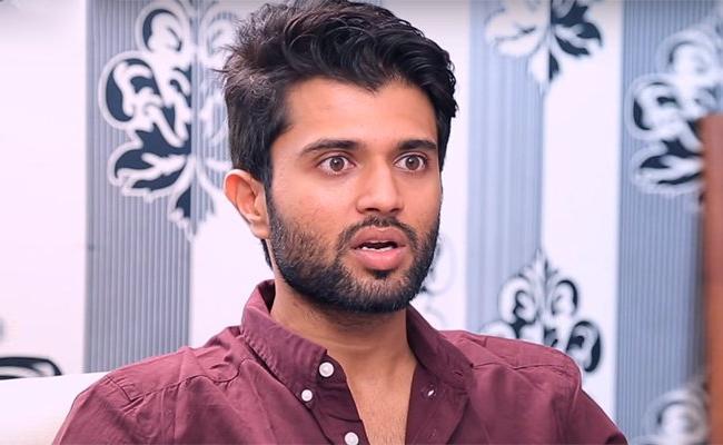 Vijay Devarakonda Multi lingual Movie Hero Put On Hold - Sakshi