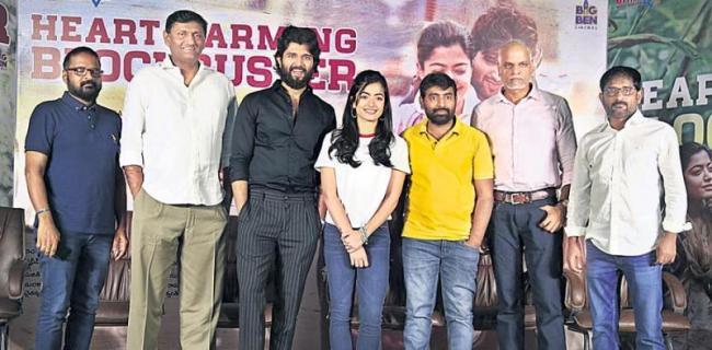 dear comrade movie press meet - Sakshi