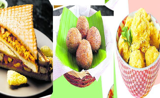 Corn Cake, Paneer Sandwich Recipes - Sakshi