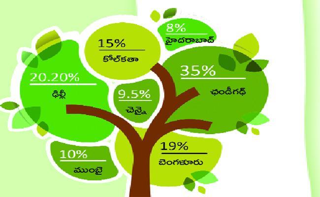 Green Belt Decreasing In Hyderabad City - Sakshi