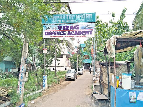 Bullying of Vizag Defense Academy employees To parents of students who ask for TC - Sakshi
