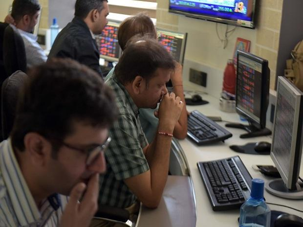 Benchmark Indices Gave Up Their Opening Gains To Trade Lower - Sakshi