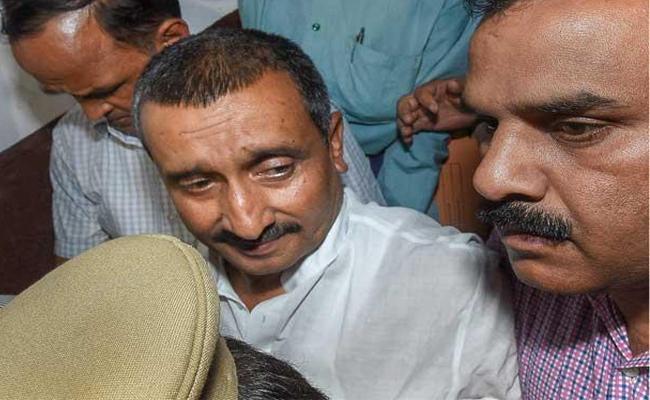 BJP MLA Kuldeep Sengar among10 named in FIR - Sakshi