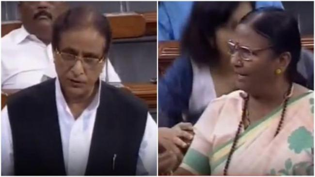 Azam Khan Apologises For His Remark In Lok Sabha - Sakshi