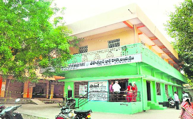 Broker People Doing Corruption In Warangal - Sakshi