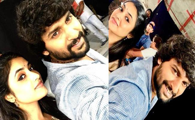 Nani And Priya Signing Off To Gang Leader Shooting - Sakshi