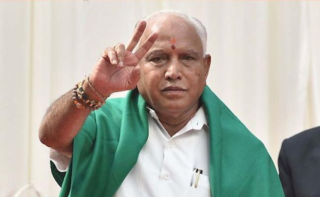 Yeddyurappa Wins In Floor Test In Karnataka Assembly - Sakshi