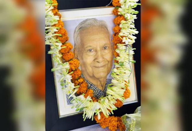 Veteran industrialist BK Birla passes away in Mumbai - Sakshi