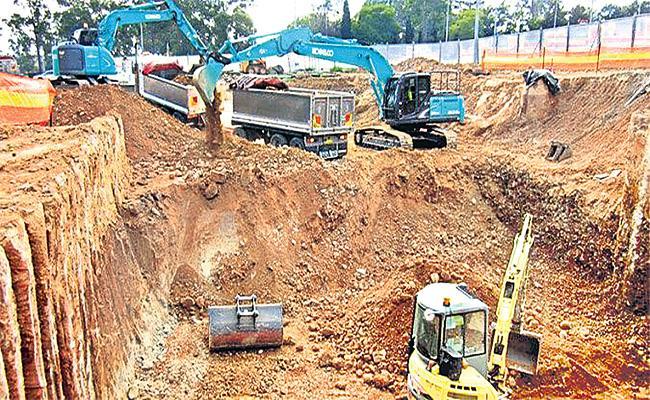 GHMC Ban Sellar Works in Hyderabad - Sakshi