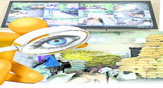 Surveillance On Civil Supplies Department In Kakinada - Sakshi