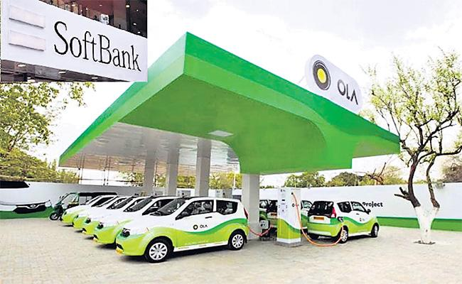Ola Electric Division Investments in Japan Softbank - Sakshi