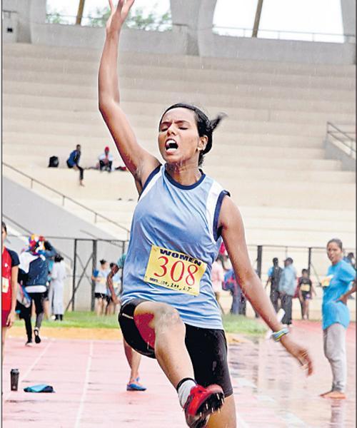 Kavya And Nandini Got Gold Medals - Sakshi