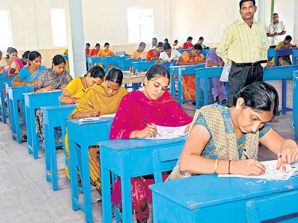 Same exam for four jobs - Sakshi